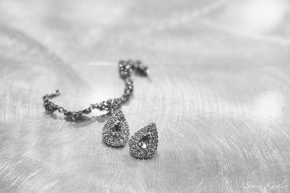 Earrings and Bracelet for Bride