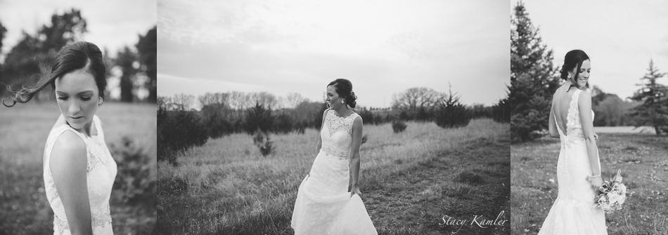 Bridal Portraits on a deep V back lace dress