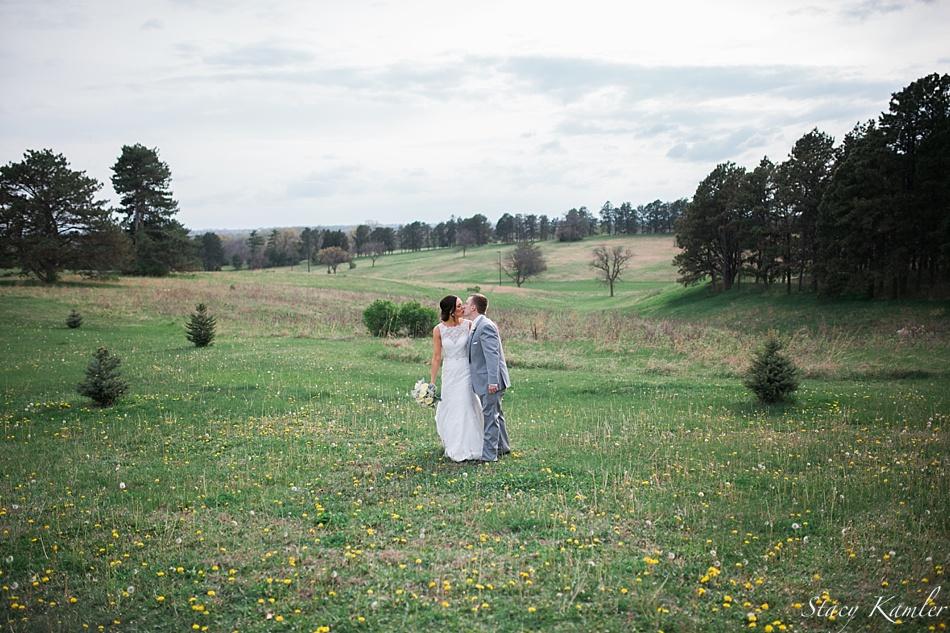 Bridal Portraits in open field