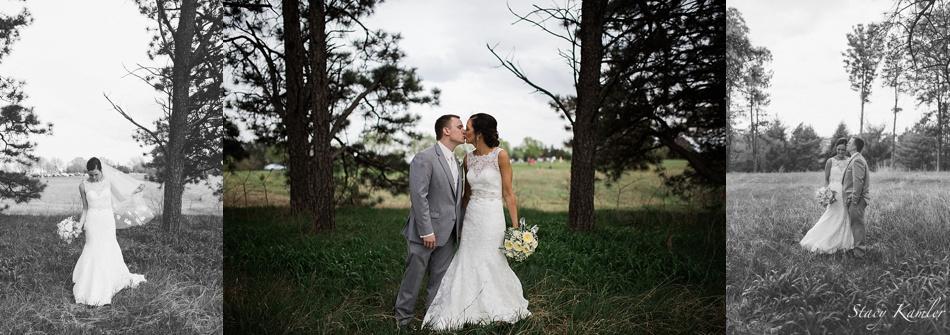 Bride and Groom Portraits, Lincoln NE