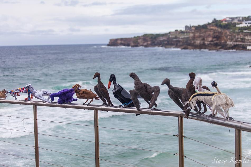 """""""Transmigration"""" by Jeremy Sheehan Sculpture by the Sea, Bondi Beach, Australia"""