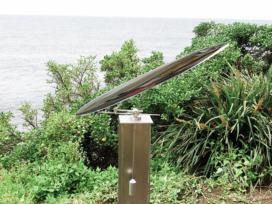 """Swing Oval"" by Tsukasa Nakahara, Sculpture by the Sea, Bondi Beach, Australia"