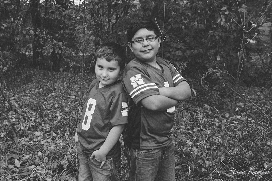 Brothers portraits in Lincoln, NE