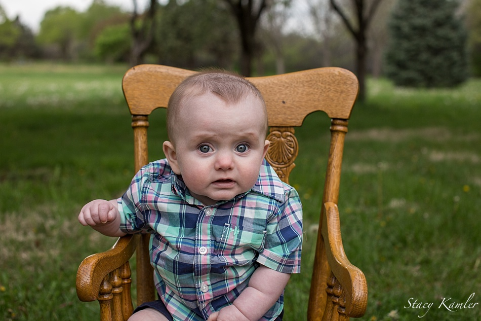 Green and Pink Plaid for Spring Photos