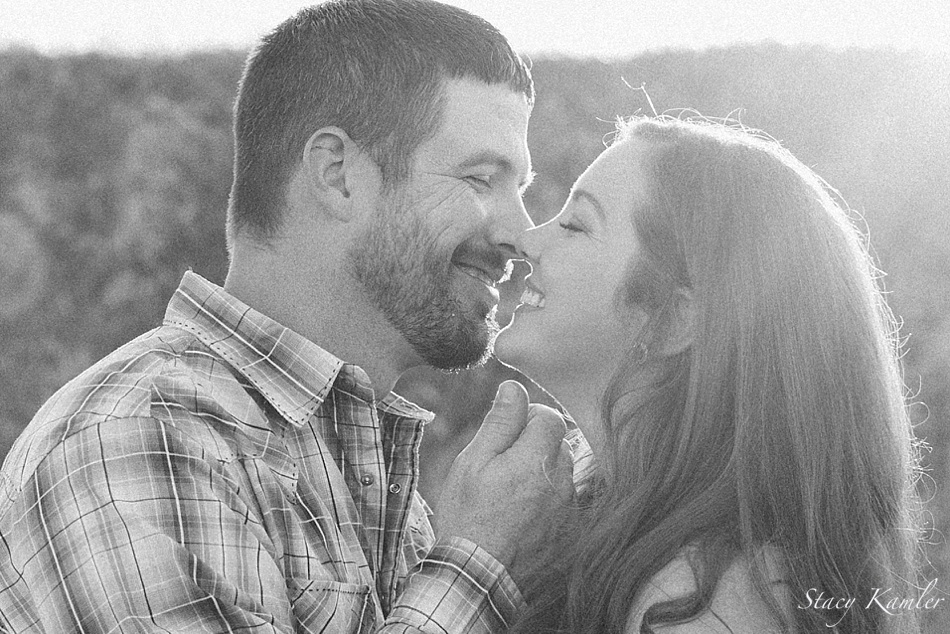 Couple session, smiles and laughter