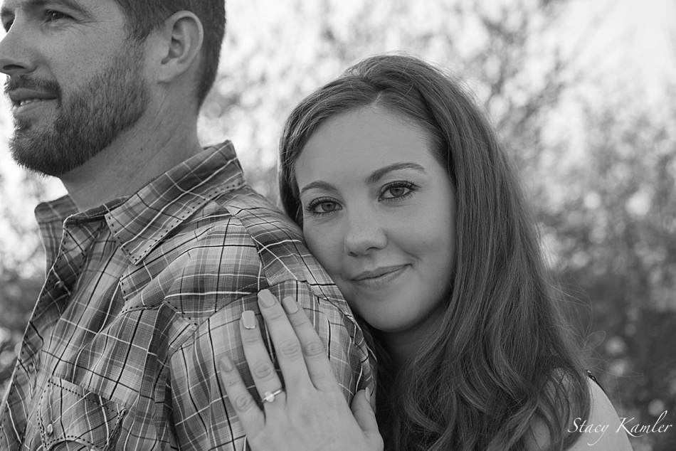 Bride to be photograph, Black and White