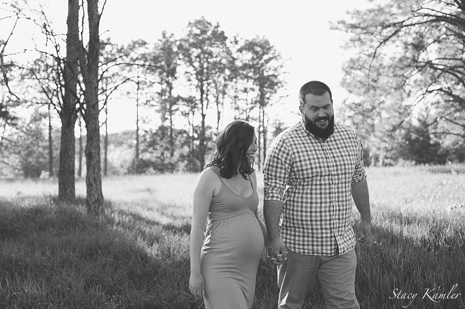 new mom and dad maternity session