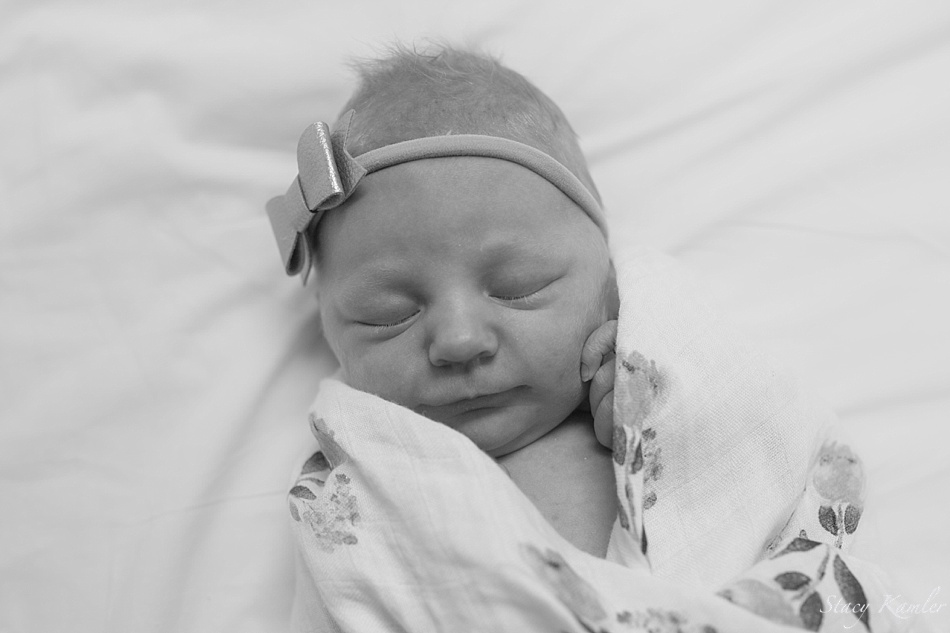 Beautiful baby girl photos at the Hospital