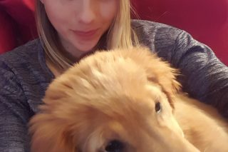 selfies with the new puppy