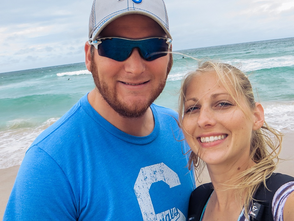 Ryan and I At Bondi Beach