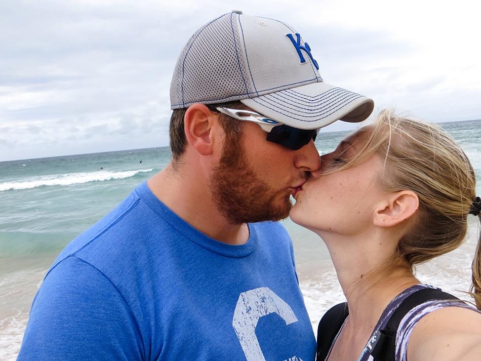 Kisses at Bondi Beach
