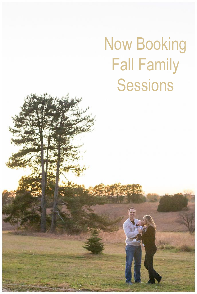 Booking Fall Family Sessions