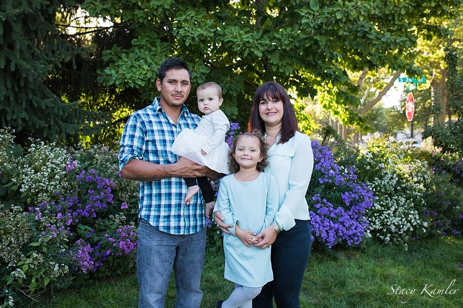 Family Portrait at Sunken Gardens