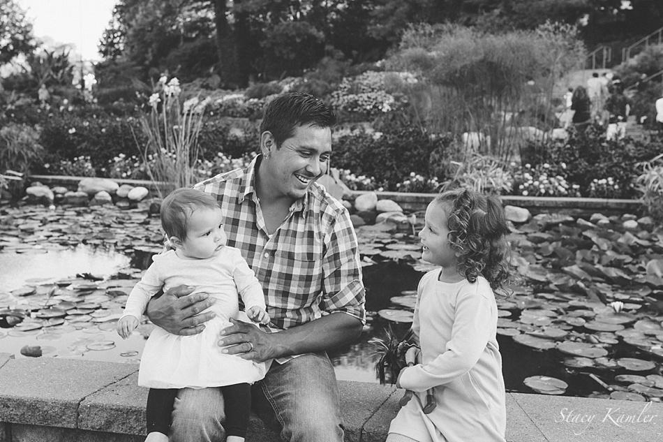 Sibling love at Sunken Gardens, Lincoln NE