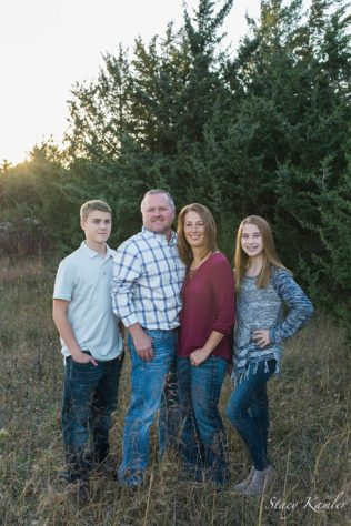 Golden Hour Family Session at Wagon Train, Hickman, NE