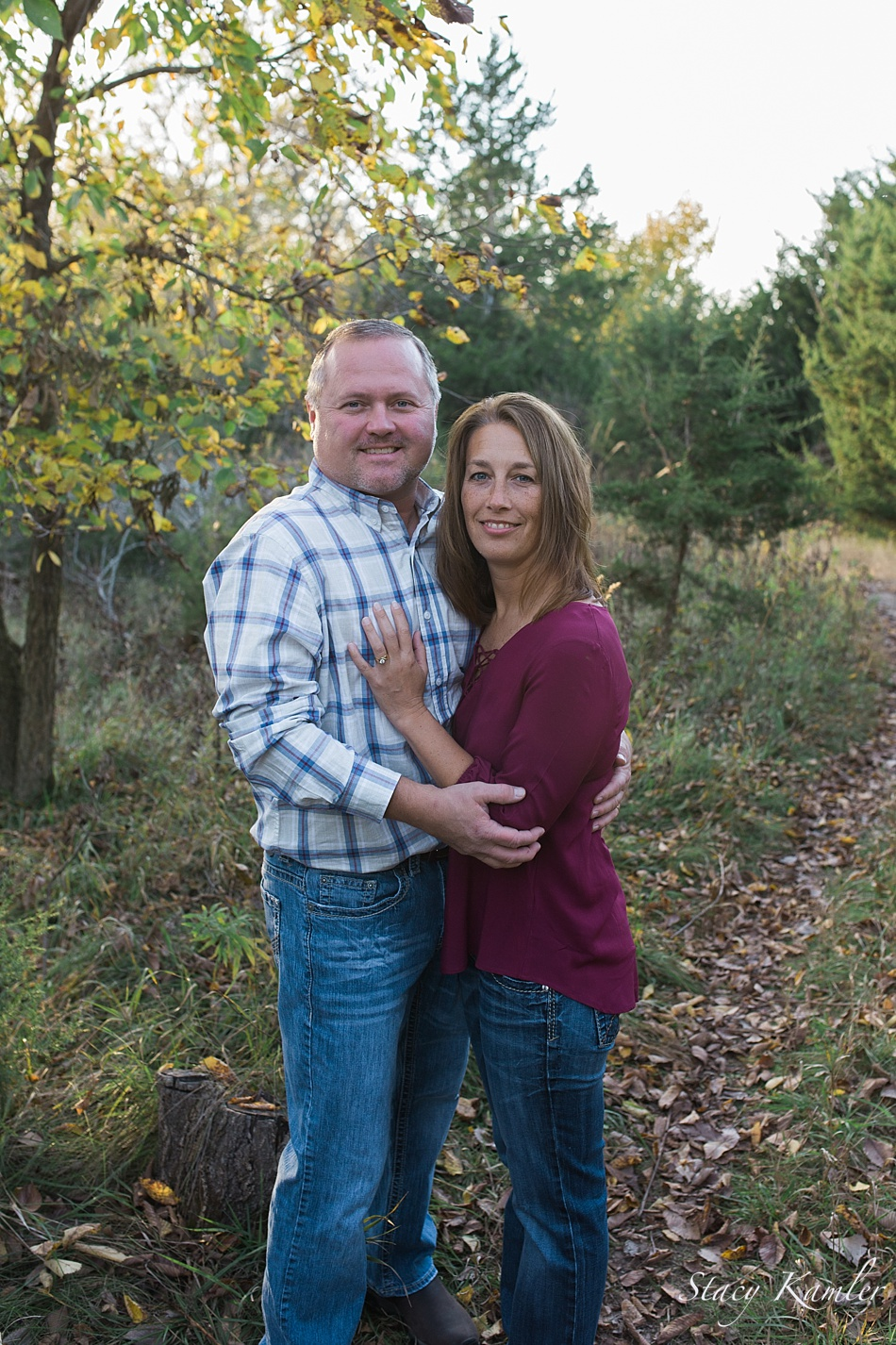 Couple portraits at Wagon Train, Hickman NE
