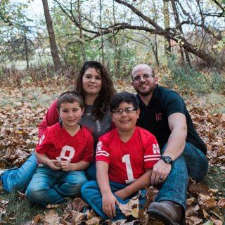 Nebraska Family photos a Roper Park