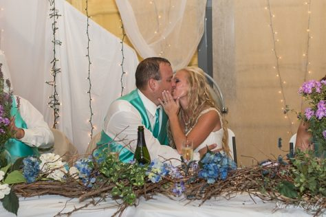 Kisses at the Reception