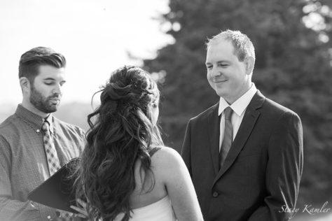 Small Intimate Wedding Ceremony, Geneva, NE