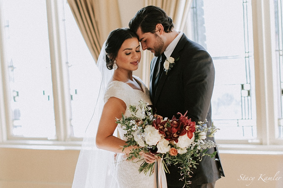 Bride and Groom in Utah for a styled shoot at Photo Native