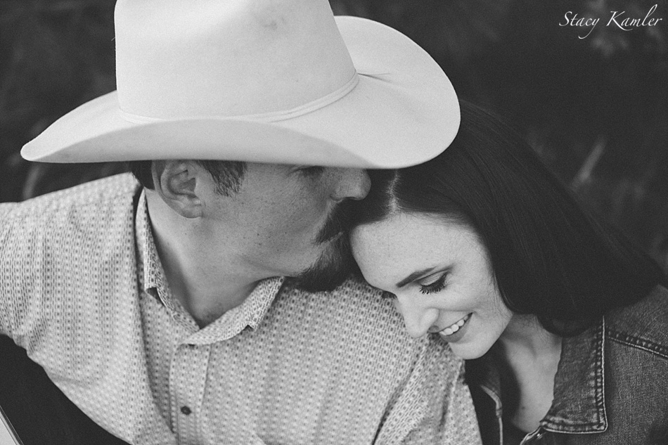 He is my Cowboy Engagement photos