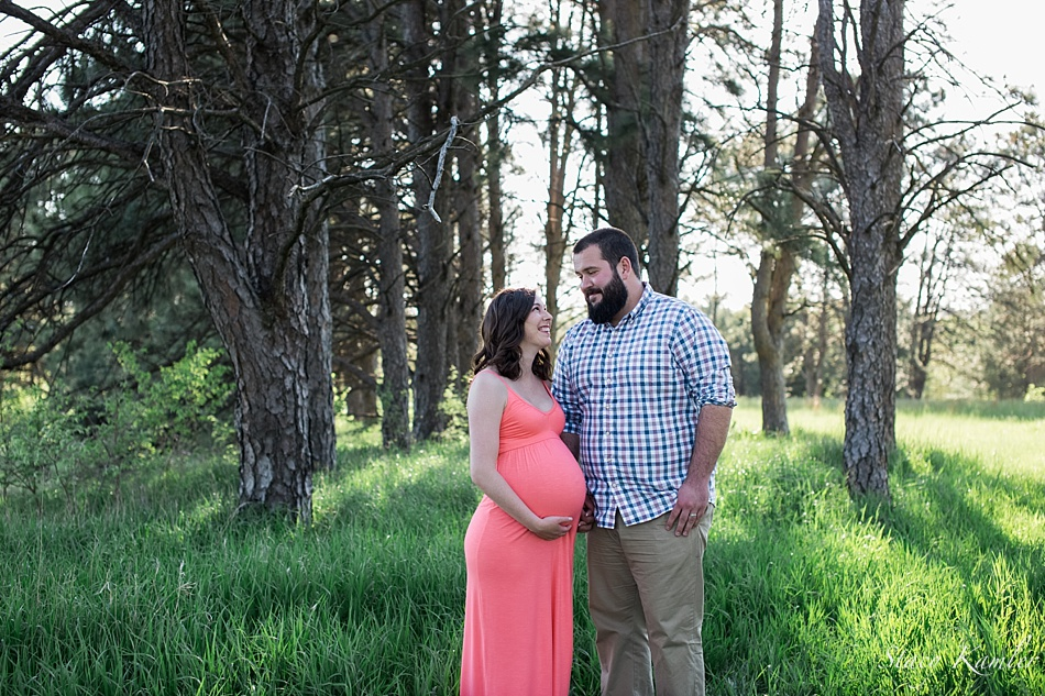 Maternity Session at Pioneers Park