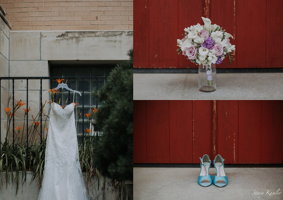 Wedding Flowers, Shoes and Dress