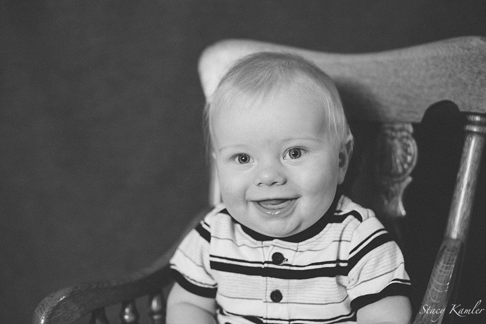 Smiling and Happy 6 month old photos