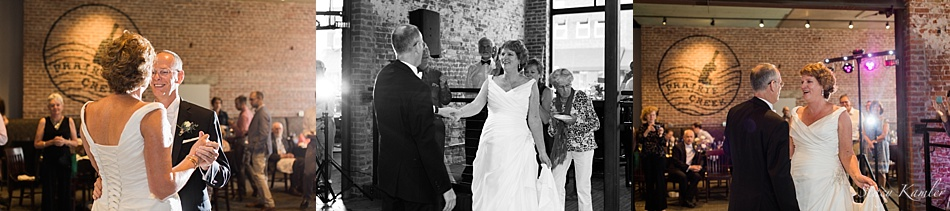 First Dances at Prairie Creek Winery in Central City, NE