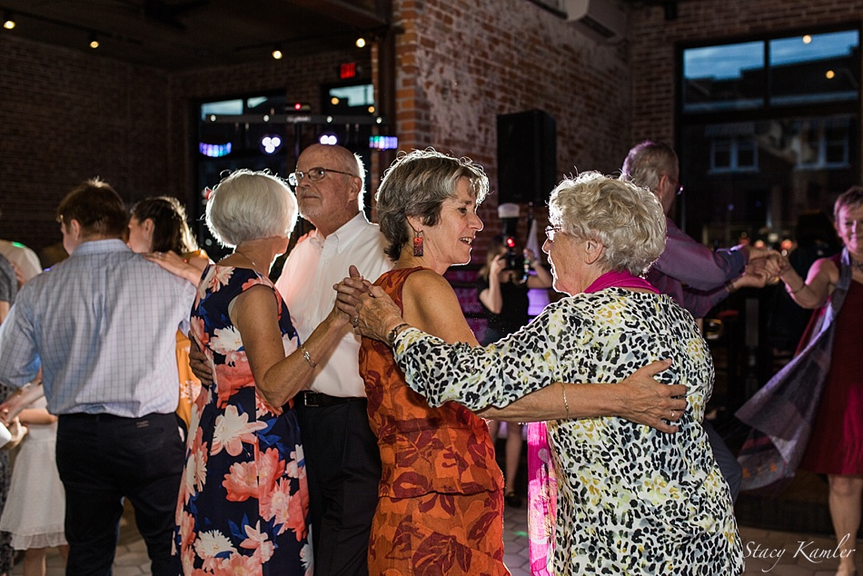 Guests from Holland dancing