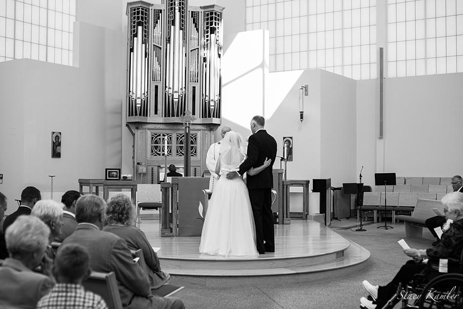 Ceremony at St. Michael's Lutheran Church, Omaha, NE