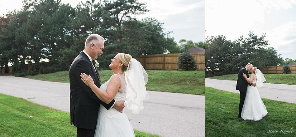 Outdoor Bridal Photos in Omaha, NE