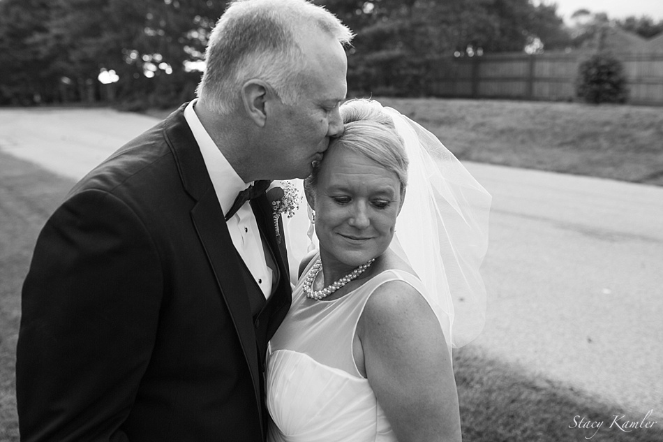 Black and White Photos of the Bride and Groom