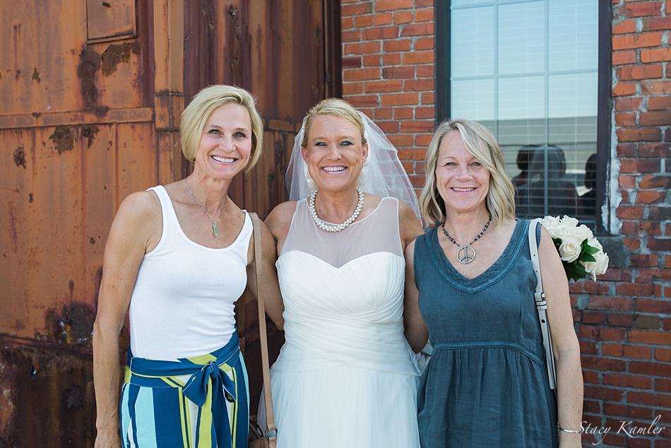 Friends at a Wedding