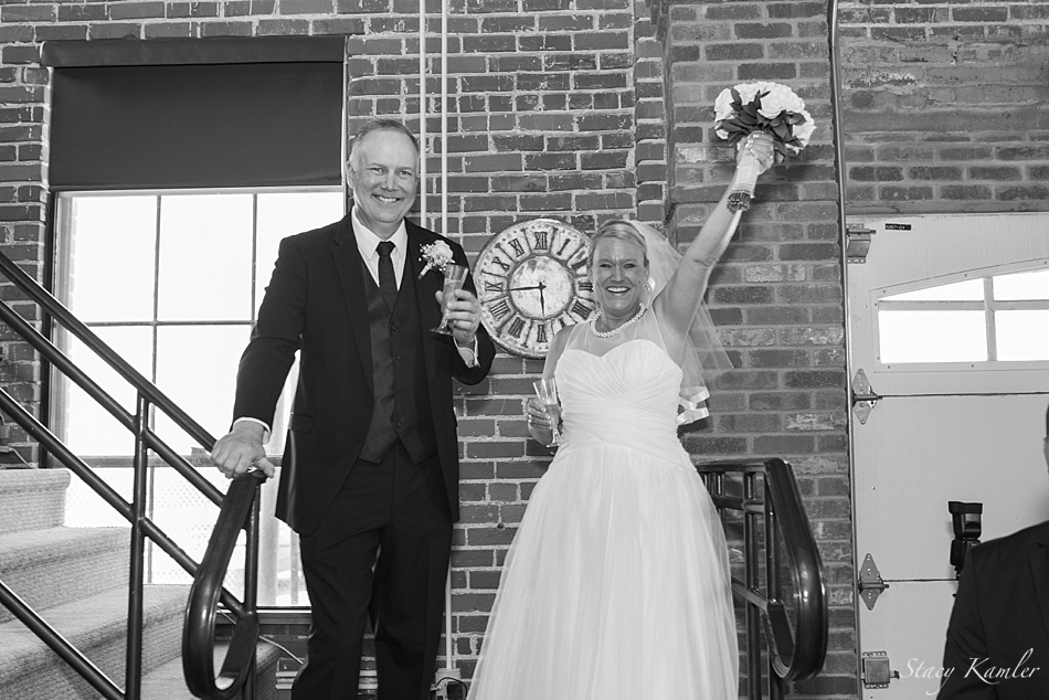 Toasts at the Reception
