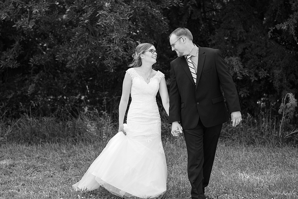 Bride and Groom Portraits, Geneva, NE