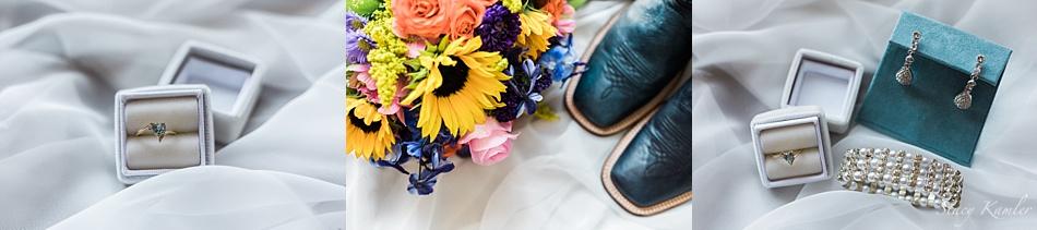 Wedding Detail Shots: Pearl Bracelet, earrings and ring