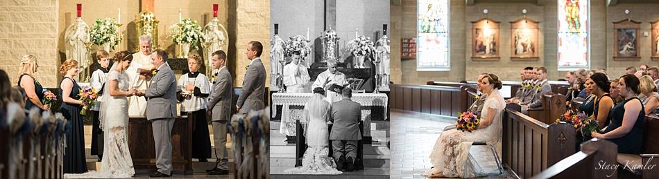 Wedding Ceremony at the North American Martyrs Catholic Church
