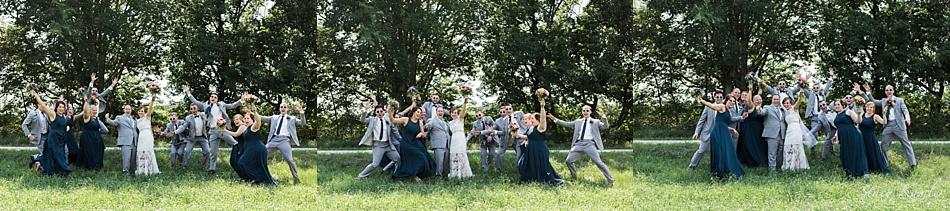 Bridal Party Photos in Roca