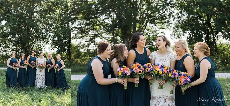 Bridesmaids Photos in Natural Light