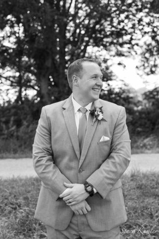 Groom Portraits in Black and White