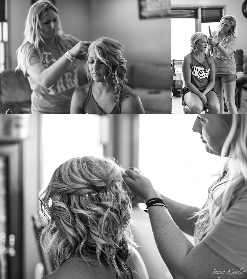 Bridal Hair by Jackie Kleinschmidt