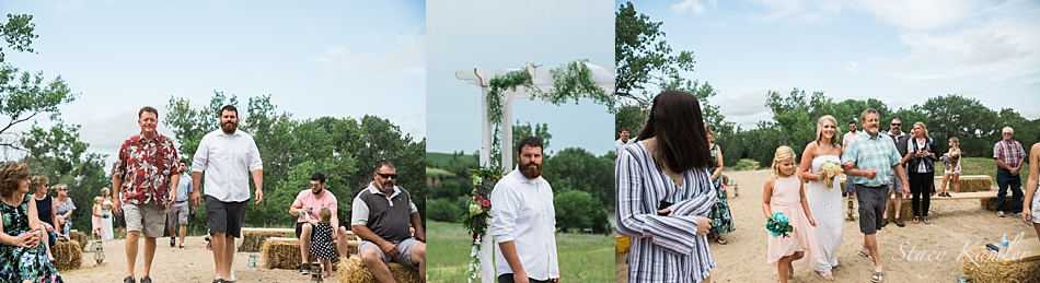 Small Outdoor Ceremony