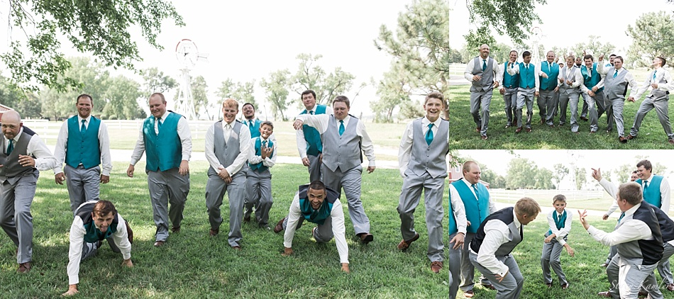 Bridal Party Photos at Scout Rest Ranch