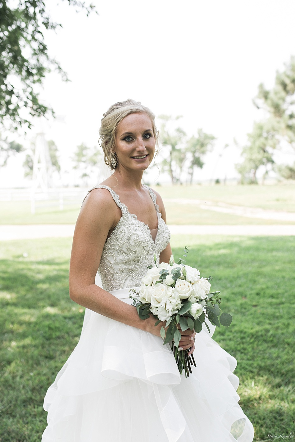 Bride Portraits in Allure Dress