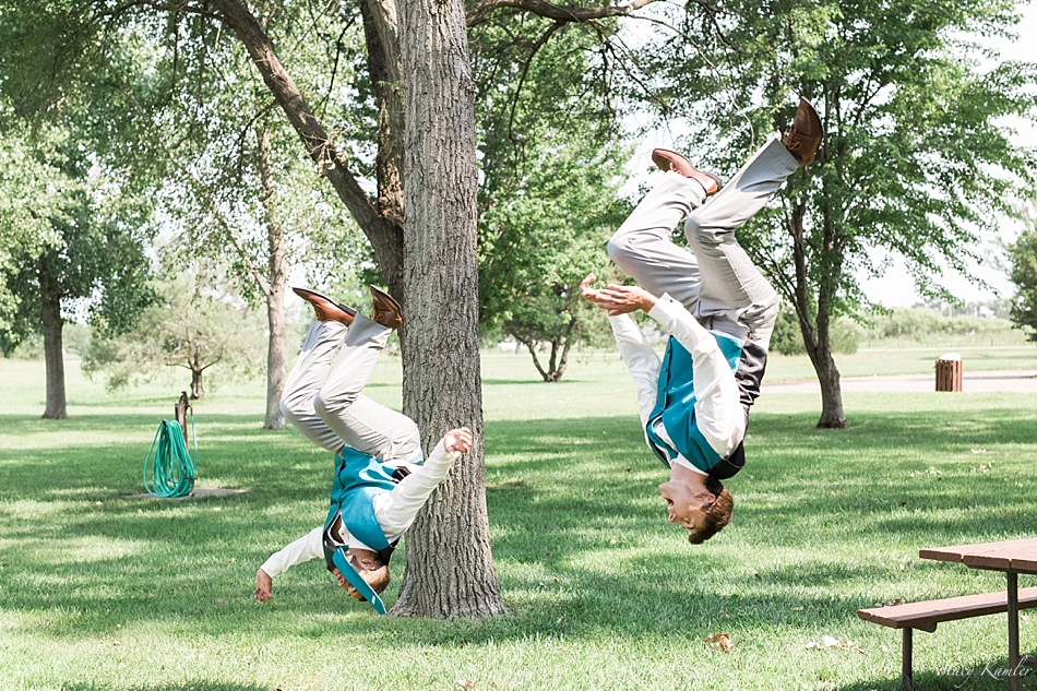 Back Flips at Scouts Rest Ranch