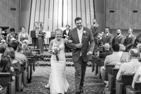 Wedding at Geneva Methodist Church