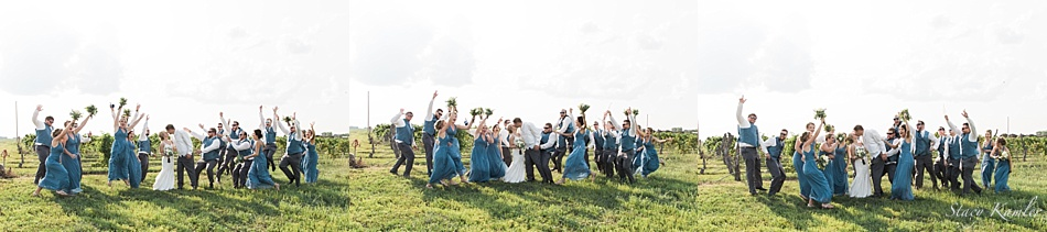 Bridal Party photos at Lazy Horse Brewery