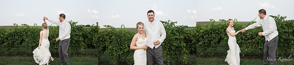 Bridal Portraits at Lazy Horse Brewery