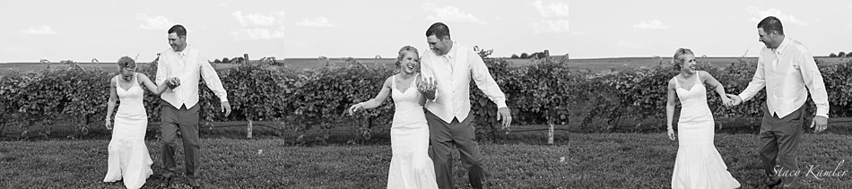 Dancing in the Lazy Horse Vineyard